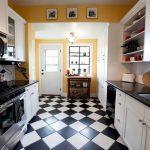 дизайн белый кухонный гарнитур