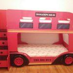 двухъярусная кровать Автобус Лондон 3D