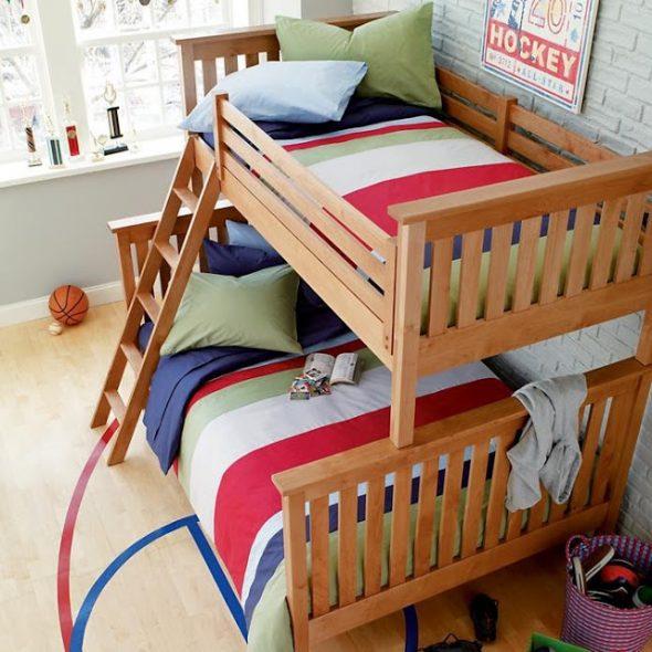двухъярусная кровать для подростков