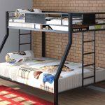 двухъярусная кровать металл