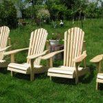 кресло садовое своими руками