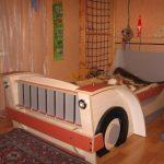 кровать грузовая машина