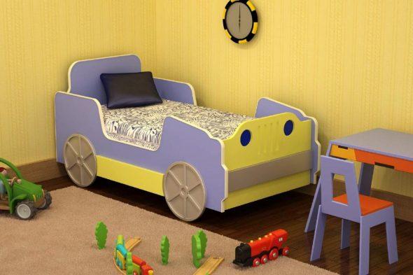 кровать машина для ребенка