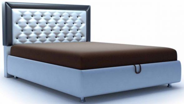 кровать с одной спинкой