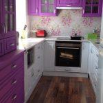 кухня 6 квадратных метров интерьер