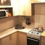 кухня 6 квадратных метров с гарнитуром