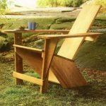 кресло для сада из дерева