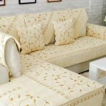 накидка на диван бежевая