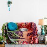 накидка на диван гобеленовая
