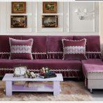 накидка на диван с кружевом