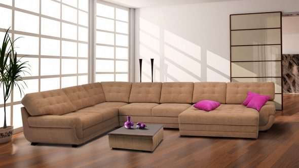 обивка дивана замша