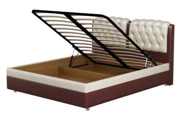 кровать двуспальная подъемная