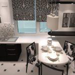 подоконник столешница в интерьере кухни