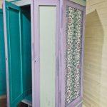 покраска и обновление старого шкафа
