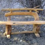 садовая скамейка из дерева