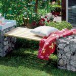 садовая скамья оригинальная