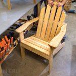 садовое кресло дерево