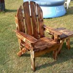 садовое кресло из дерева дизайн