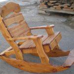 садовое кресло качалка фото