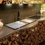 секреты выбора кухонной столешницы