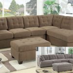 замшевый диван в интерьере