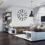 белая мебель в стиле хай тек