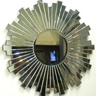 Декоративное зеркало-солнце