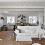 белая мебель в стиле кантри