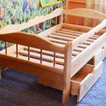 Детская кровать из ясеня