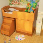 Детская кровать от 3-х лет Дюймовочка