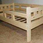 детская кровать массив дерева