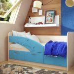 кровать дельфин с бортиком