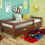 Детские кровати от 3 лет с бортами