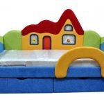 Детский диван-кровать Домик