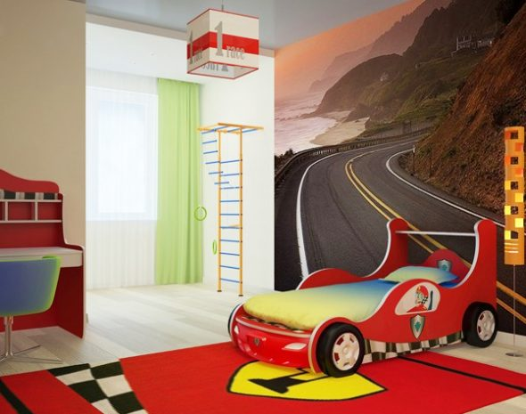 Дизайн комнаты для мальчиков 5 лет