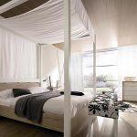 дизайн фото светлая спальня