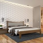 Двуспальная кровать Гармония бук