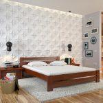 Двуспальная кровать Лус из массива