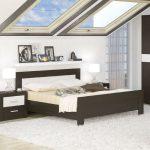 Двуспальная кровать Мебель-Сервис Квадро