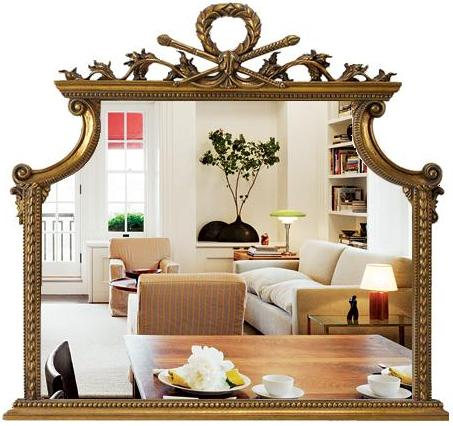 Фото зеркала в багете
