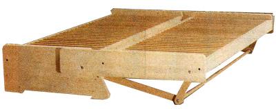 Конструкция раскладного дивана