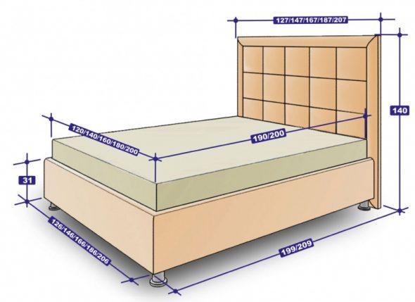 Кровать Francheska box
