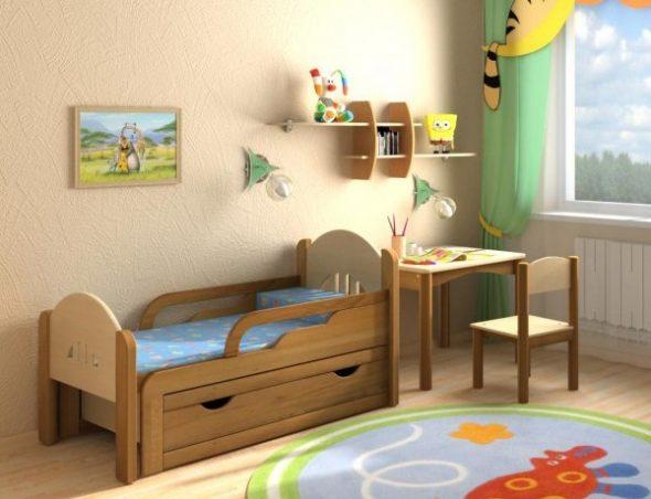 кровать детская от 3 лет