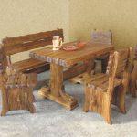 Мебель из массива дерева под старину