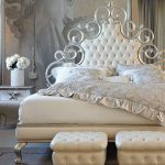 двуспальная кровать металлическая