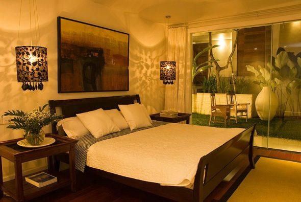 Оптимальная высота кровати в спальне
