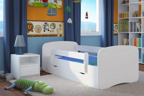Оригинальные детские кровати с бортиками