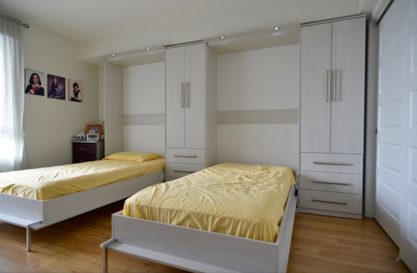 откидные кровати в спальне