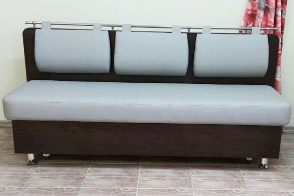 Прямой диван для кухни Сюрприз СВ с механизмом Дельфин