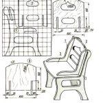 Проект детского фанерного стульчика